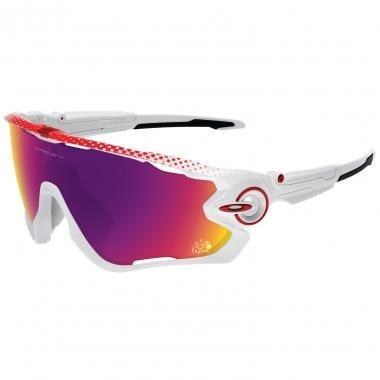 Óculos OAKLEY JAWBREAKER TOUR Branco/Vermelho Prizm OO9290-18