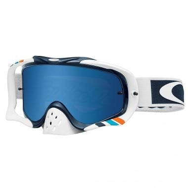 Maschera OAKLEY CROWBAR MX TROY LEE DESIGNS CORSE Bianco Iridium