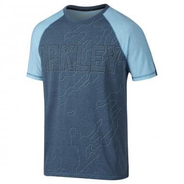 T-Shirt OAKLEY MIU EVOLVE Blu 2016