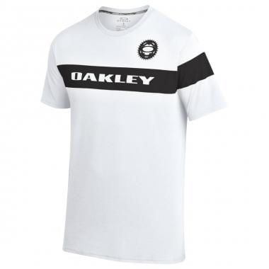 T-Shirt OAKLEY O-RACE Bianco 2016