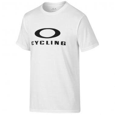 T-Shirt OAKLEY O-CYCLING Bianco 2016
