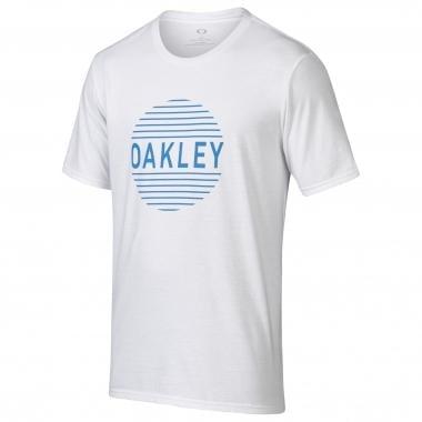 T-Shirt OAKLEY FADED CIRCLE Blanc 2017