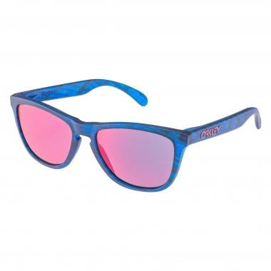 Óculos OAKLEY FROGSKINS Azul Mate Woodgrain Iridium OO9013-B555 2017