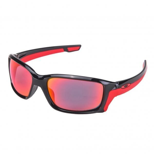 Oakley Straightlink Iridium Sonnenbrille Schwarz/Blau 58QkWxe6