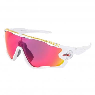 Lunettes OAKLEY JAWBREAKER TOUR DE FRANCE COLLECTION Blanc Mat Prizm OO9290-2731 2017