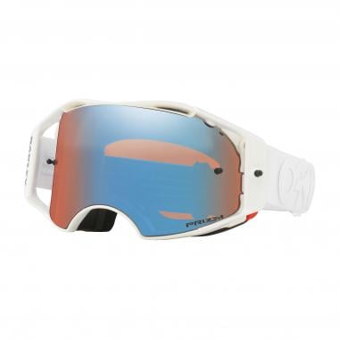 Masque OAKLEY AIRBRAKE MX FACTORY PILOT Blanc Prizm Iridium OO7046-59