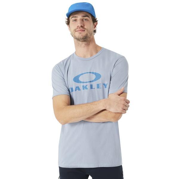 OAKLEY 50-BARK ELLIPSE T-Shirt Blue 2018 - Probikeshop d86afb1be4e4