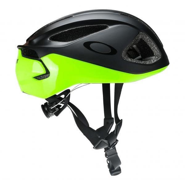 41b5e9ab7e OAKLEY ARO 3 MIPS Helmet Black Yellow 2018 - Probikeshop
