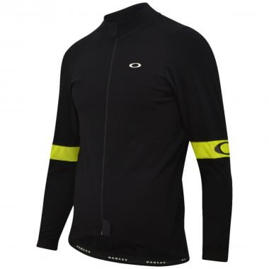 OAKLEY THERMAL Long-Sleeved Jersey Black/Yellow