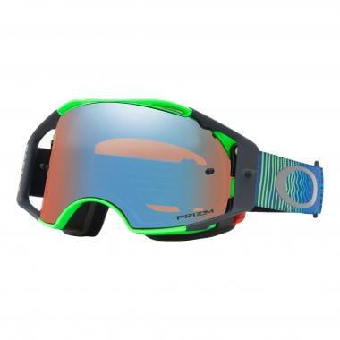 6d00d399f8 OAKLEY AIRBRAKE MX Goggles Green Blue Prizm Iridium Lens OO7046-67