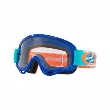 Masque OAKLEY XS O FRAME MX Enfant Bleu Écran Transparent OO7030-13