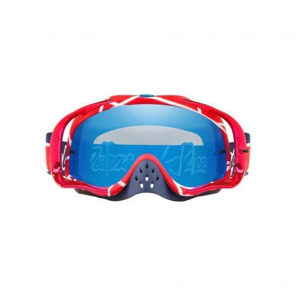 e3c4c1ebd3 OAKLEY CROWBAR MX TROY LEE DESIGNS Goggles Red Iridium Lens OO7025 ...