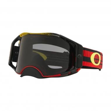 dbd5181503 OAKLEY AIRBRAKE MX Goggles Red Yellow Smoke Lens OO7046-75