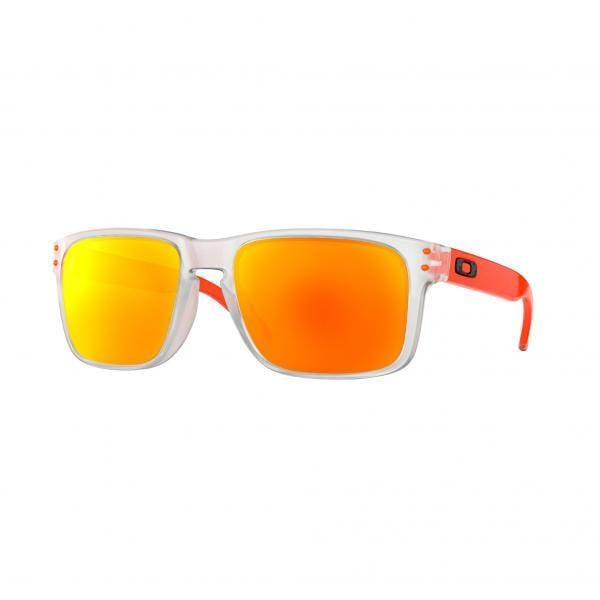 9537b50334 Gafas de sol OAKLEY HOLBROOK Transparente/Naranja Iridium OO9102-H555