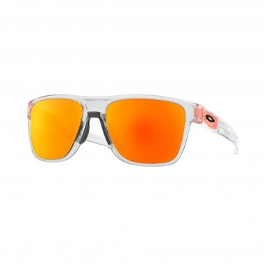 Lunettes OAKLEY CROSSRANGE XL Transparent Orange Iridium OO9360-1858 2018 d8a085c999eb