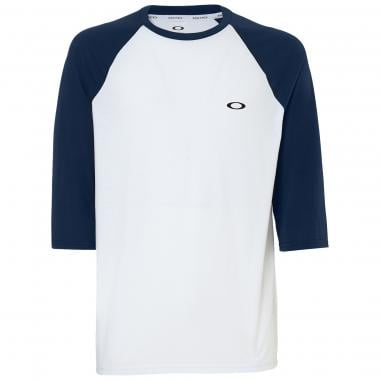 Maillot OAKLEY LINK Manches 3/4 Blanc 2019
