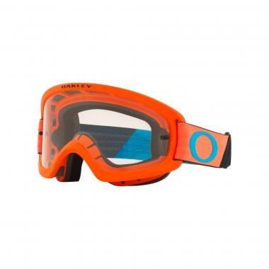 Masque OAKLEY O FRAME 2.0 PRO XS MX Enfant Orange Écran Transparent OO7116-04 2021