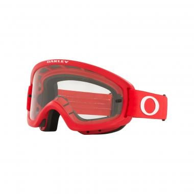 Masque OAKLEY O FRAME 2.0 PRO XS MX Rouge Écran Transparent  OO7116-18 2022