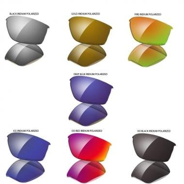 Verres de Remplacement OAKLEY FLAK JACKET Iridium Polarized