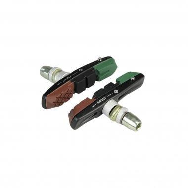 Par de zapatas de freno con tornillo ALLIGATOR VB-660 V-BRAKE Anodizado