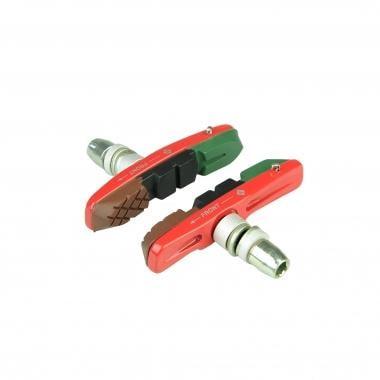 Par de zapatas de freno con tornillo ALLIGATOR V-Brake 3 Colores