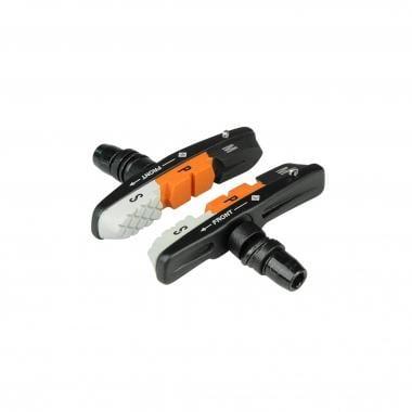 Par de zapatas de freno con tornillo ALLIGATOR VB-661 V-BRAKE Anodizados Tres colores