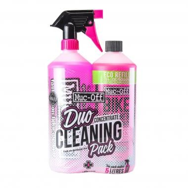 Pack Nettoyant MUC-OFF Bike Cleaner 1L + Bike Cleaner Concentrate 1L
