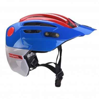 Casco URGE ENDUR-O-MATIC 2 Azul/Blanco/Rojo