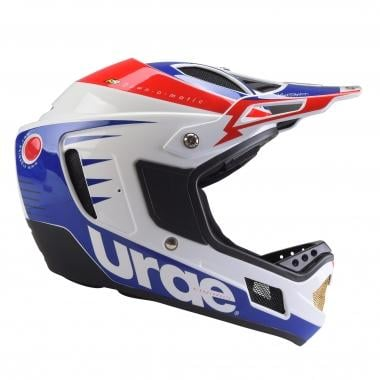 Casque URGE DOWN-O-MATIC RR Blanc/Rouge/Bleu
