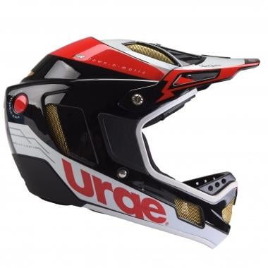 Capacete URGE DOWN-O-MATIC RR Preto/Vermelho/Branco