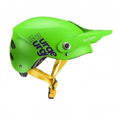 Casco URGE ALL-IN Verde/Violeta 2017