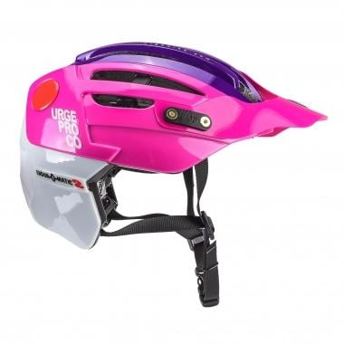 Casque VTT URGE ENDUR-O-MATIC 2 Rose/Violet/Blanc