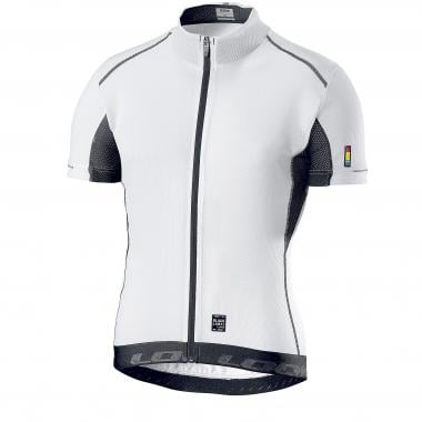 Maillot LOOK BLACK LABEL Mangas cortas Blanco