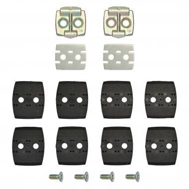 Kit de calas para pedales LOOK QUARTZ 15° Negro