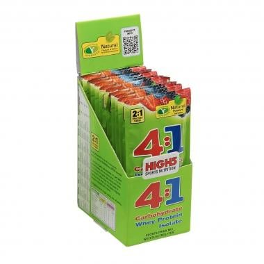 Pack de 12 bebidas energéticas HIGH5 ENERGY SOURCE 4:1 (50 g)