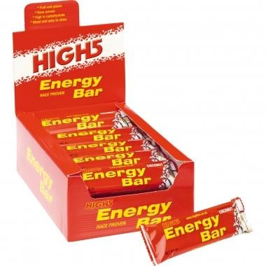 Pack de 25 barritas energéticas HIGH5 ENERGY BAR (60 g)