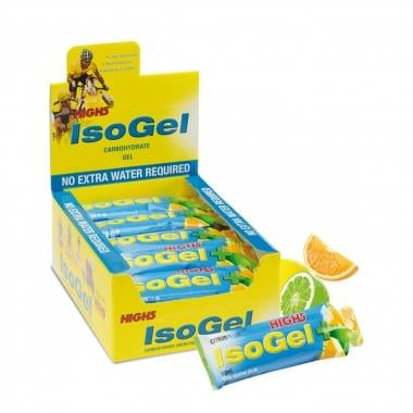 Pack de 25 geles energéticos HIGH5 ISO GEL PLUS (60 ml)