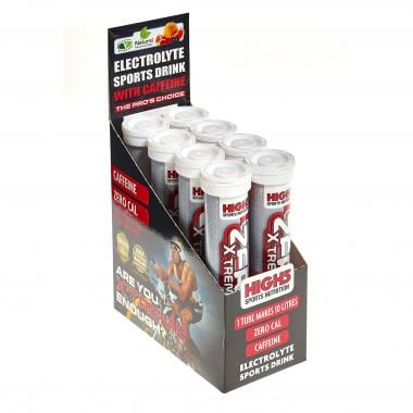 Caja de 8 tubos de bebida anticalambres HIGH5 ZERO X'TREME (Tubo de 20 pastillas)