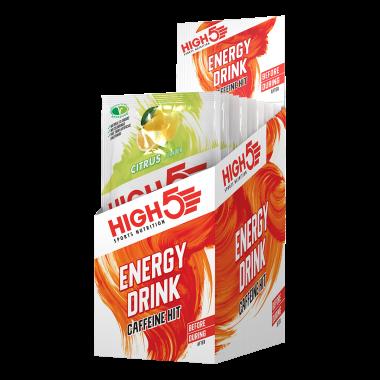 Pack de 12 Boissons Énergétiques HIGH5 ENERGY DRINK CAFFEINE HIT (47 g)