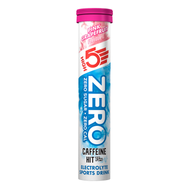 Boisson Anticrampe HIGH5 ZERO CAFFEINE HIT (Tube de 20 Pastilles)