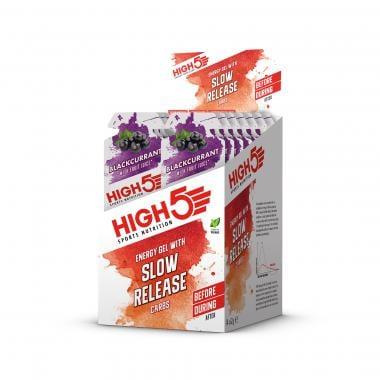 Pack de 14 Gels Énergétiques HIGH5 SLOW RELEASE CARBS ENERGY GEL (62 g)