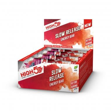 Pack de 16 Barres Énergétiques HIGH5 SLOW RELEASE ENERGY BAR (40 g)