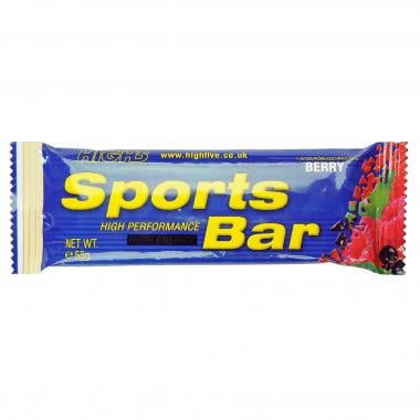 Pack de 25 barritas energéticas HIGH5 SPORTS BAR (55 g)