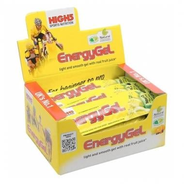 Lote de 20 Géis Energéticos HIGH5 ENERGY GEL (38 g)