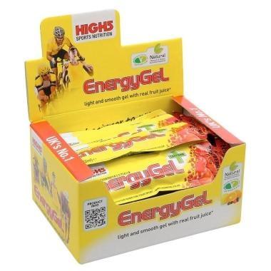 Pack de 20 geles energéticos HIGH5 ENERGY GEL PLUS (38 g)