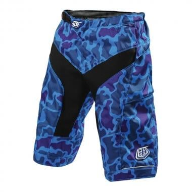 Short TROY LEE DESIGNS MOTO Femme Camo/Bleu