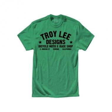 T-Shirt TROY LEE DESIGNS RACESHOP Junior Verde