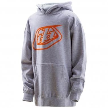 Sweat à Capuche TROY LEE DESIGNS SHIELD Junior Gris 2016