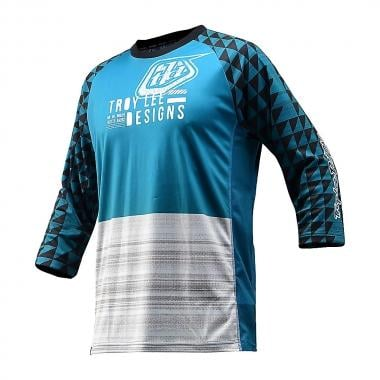 Maillot TROY LEE DESIGNS RUCKUS FORMATION Manches 3/4 Bleu