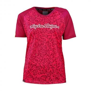 Maillot TROY LEE DESIGNS SKYLINE EVIL Mujer Mangas cortas Rosa